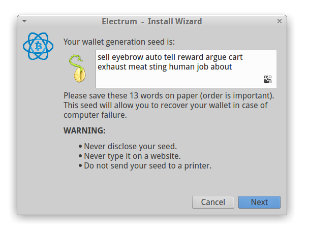 electrum recovery seed